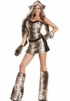 Tempuous Tiger Sexy 6 PC Costume