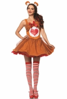 Tenderheart Bear Sexy 2 PC Costume
