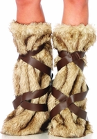 Warrior Fur Leg Warmers