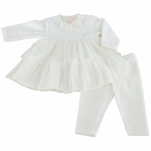 Baby Biscotti--Baby Ballerina Velour Dress & Set!  9m