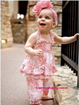 Biscotti - 2PC Top & Pant - Size 2T - 4T