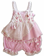 Biscotti Baby- 2PC Top&Pant Pink- Size 3m - 9m