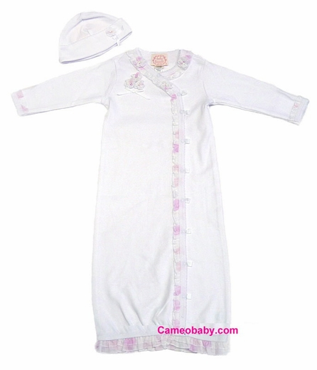 Biscotti Baby -*Sweet Dreams* -Gown & Hat -