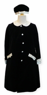 Biscotti Black & White 3pc Coat Set- Size 4- 6x