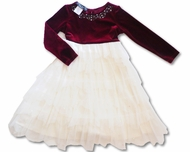 Biscotti Christmas Dress Long Sleeve, Size 4T