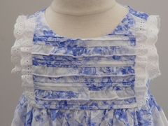 Biscotti Dress *Porcelain Blues*