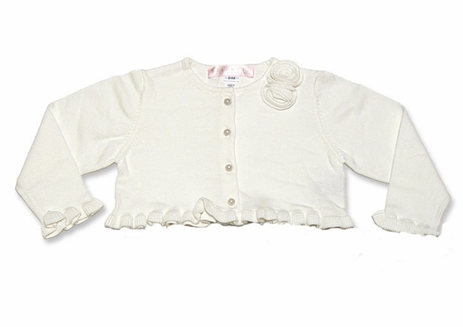 Biscotti Dresses -Cardigan Sweater / Bolero with Pearl Buttons-Out of Stock