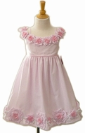 Biscotti Dresses-  Pink and White - sold out