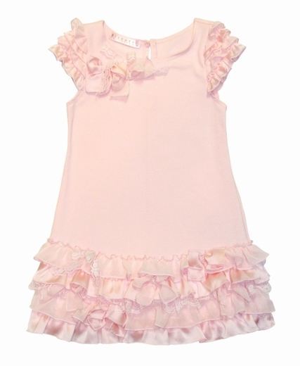 "Biscotti Dresses ""Pink Cupcake"" Ruffle Dress  - Sizes 4 to 6x"