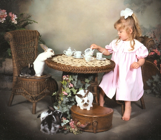 Child Heirloom Table and Chair Set