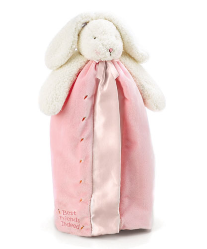 Bunnies By The Bay- Blossom's Buddy Blanket -Pink