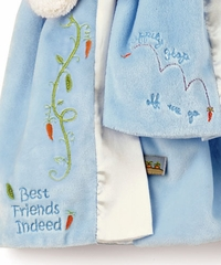Bunnies By The Bay - Bud's Buddy Blanket - Blue -