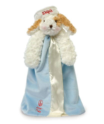 Bunnies By The Bay -Skipit's Buddy Blanket - Blue