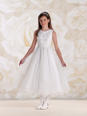 Joan Calabrese - 115308- Sleeveless Satin and Tulle