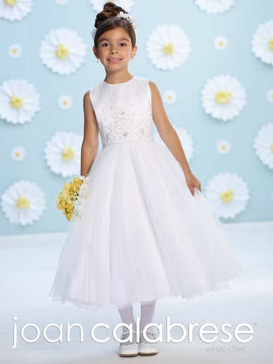 Joan Calabrese-116390 -Satin and tulle- Half Sizes also