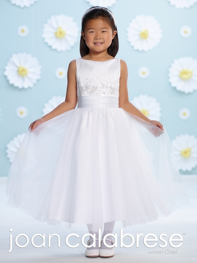 Joan Calabrese-116393-Communion Dress-Satin and Tulle
