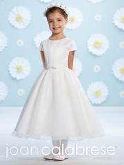 Joan Calabrese Communion Dress -116397- Satin and Organza