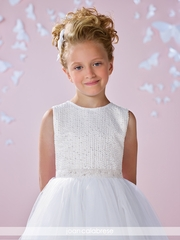 Joan Calabrese-117339 Communion Dress Hand Beaded