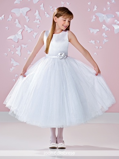 Joan Calabrese 117342-Satin,Crystal Tulle