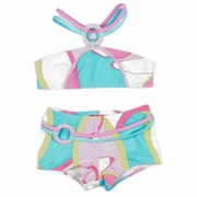 Kate Mack *A La Mod* Bandeau & Boy Short Swimsuit - Sizes 5 to 12