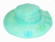 Kate Mack Butterfly Ballet Blue Hat allsize*1