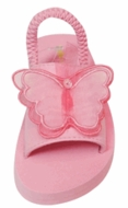 Kate Mack 'Butterfly Ballet' Toddler Sandal