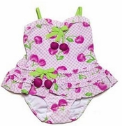 Kate Mack - Cherry Picked Tankini- Sizes 6m to 24m