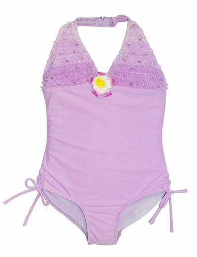 Kate Mack *Enchanted Orchid* One Piece Halter Swimsuit-SOLDOUT