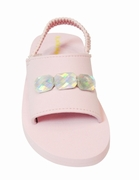 "Kate Mack ""Poolside Princess"" Toddler Sandals"