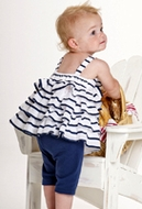 Kate Mack *Seaside Petals* Tunic and Legging Set 6m to 4t