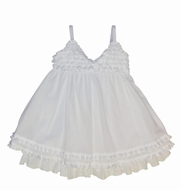 Kate Mack 'Sur La Mer' White Voile Portrait Dress -Sizes 18m-24m-10 Left Only