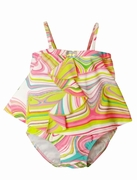 Kate Mack 'Venetian Glass' 2pc Tankini -Sizes 6M - 4T