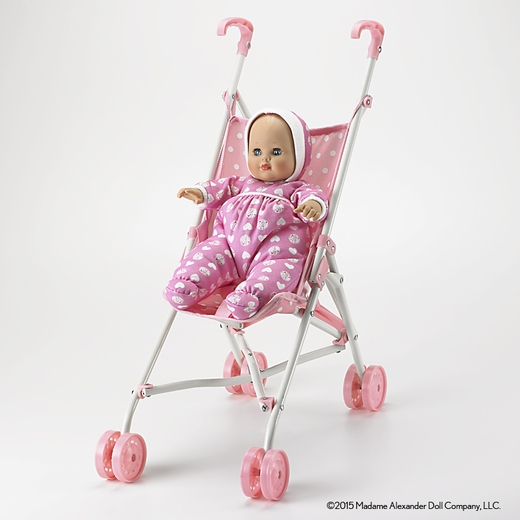 "Madame Alexander-Baby Goes for a Ride 14""Baby and Stroller Set"
