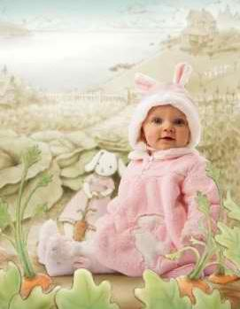 NEW! Bunnies By The Bay- *My Little Bunny Coat Set* Fits 6-12m 3 pc set