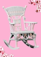 Children's Heirloom Rockers and Table and Chair Sets