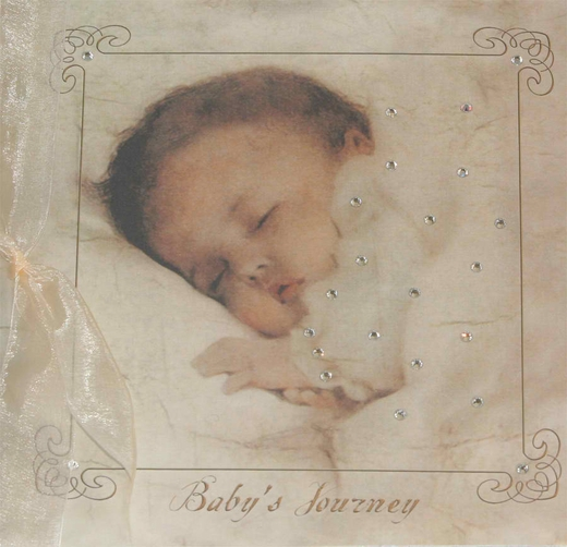 "Terra Tradition's Baby's Journey ""Baby Dreams"" Journal Book"