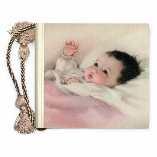 Terra Traditions 4x6 Photo Album - Baby Content (Pink)