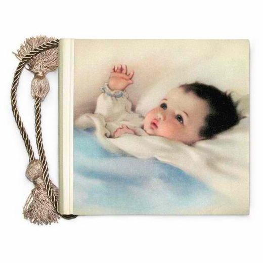 Terra Traditions  Photo Album - Baby Content (Blue)
