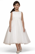 Us Angels Flower Girl *Classic Hand-Beaded Dress-Style 172*