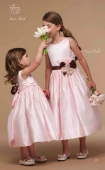 Us Angels Flower Girl *Satin Tank-Style 702*(A Custom Event)