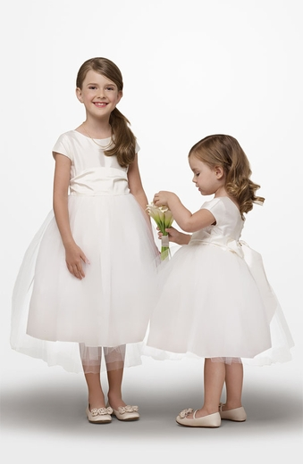 Us Angels Flower Girl *Silk Ballerina-Style 173* Sold Out!