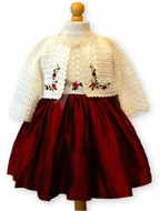 Victoria Kids - Hand Made - Crochet Sweater
