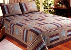 Barn Star Primitive Quilt Set