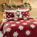 Kent Star Country Red Quilt