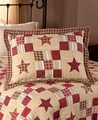 Nostalgia Red Star Quilt Set
