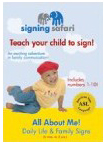 All About Me! Daily Life & Family Signs DVD