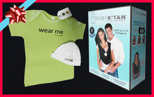 Baby K'tan Baby Carrier Gift Set