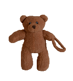 binki bear, brown small