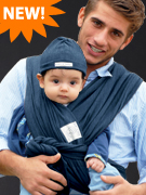 Denim Baby K'tan Baby Carrier