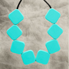 Jade Sugar Cube Necklace